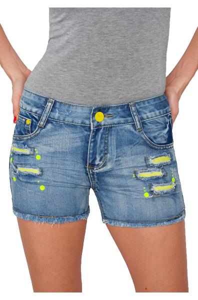 damen jeans kurze hose h ftjeans hot pants shorts panty. Black Bedroom Furniture Sets. Home Design Ideas