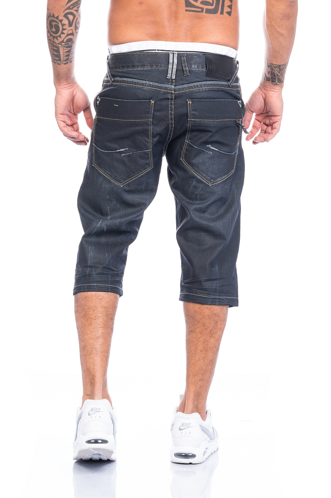 herren bermuda jeans shorts short kurze sommer hose denim h 092 neu ebay. Black Bedroom Furniture Sets. Home Design Ideas