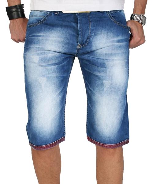 rock creek herren shorts bermuda kurze jeans hose blau. Black Bedroom Furniture Sets. Home Design Ideas