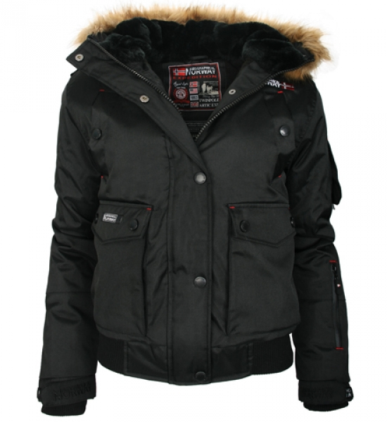 geographical norway bugsy lady damen winterjacke outdoor winter parka jacke neu ebay. Black Bedroom Furniture Sets. Home Design Ideas