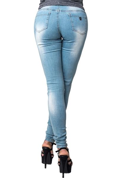 damenjeans damen jeans hose r hrenjeans destroyed. Black Bedroom Furniture Sets. Home Design Ideas