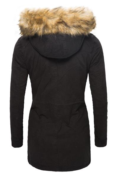winter parka damen jacke mantel damenjacke kapuze mit. Black Bedroom Furniture Sets. Home Design Ideas