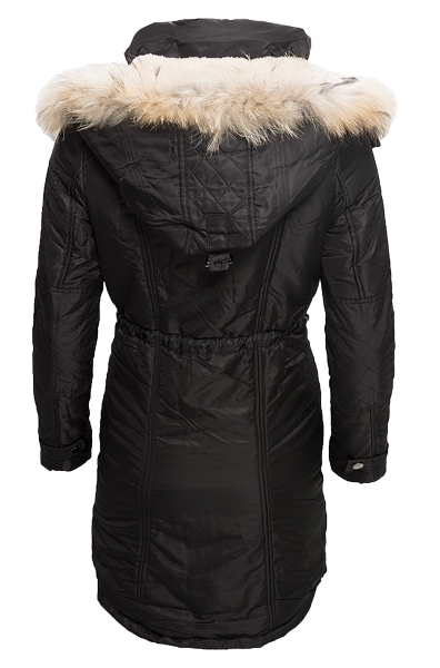damen winter jacke mantel outdoor teddyfell warm. Black Bedroom Furniture Sets. Home Design Ideas