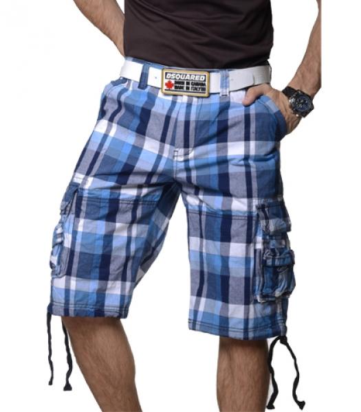hommes bermuda capri shorts carreaux pour t pantalon court ebay. Black Bedroom Furniture Sets. Home Design Ideas