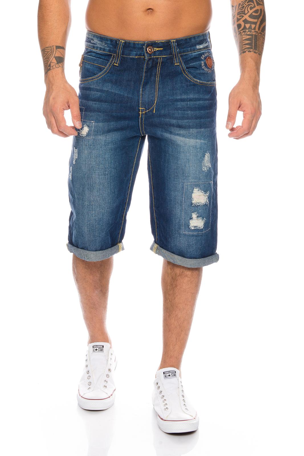 herren jeans short sommer bermuda kurze hose shorts h 073 neu w28 w38. Black Bedroom Furniture Sets. Home Design Ideas