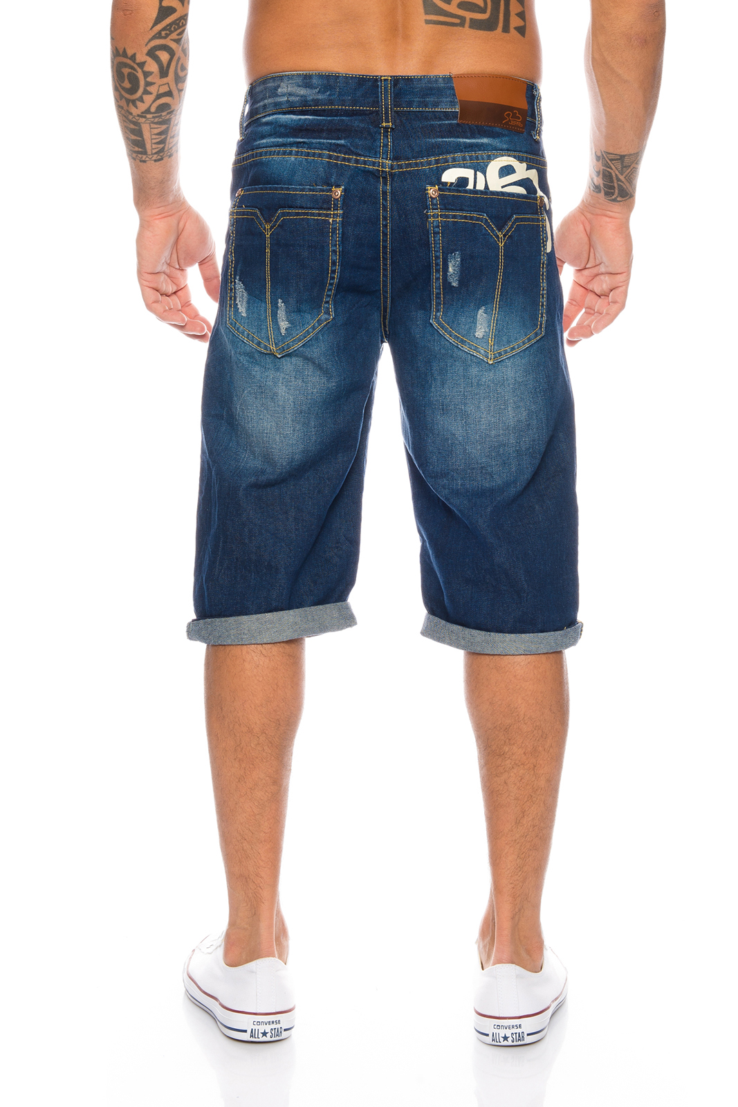herren jeans short sommer bermuda kurze hose shorts h 073. Black Bedroom Furniture Sets. Home Design Ideas