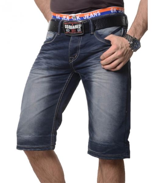 coole herren bermuda jeans shorts bermudajeans hose kurz. Black Bedroom Furniture Sets. Home Design Ideas