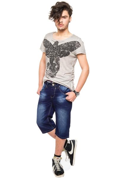 coole herren bermuda jeans shorts bermudajeans hose kurz sommer m nnerhose h029 ebay. Black Bedroom Furniture Sets. Home Design Ideas