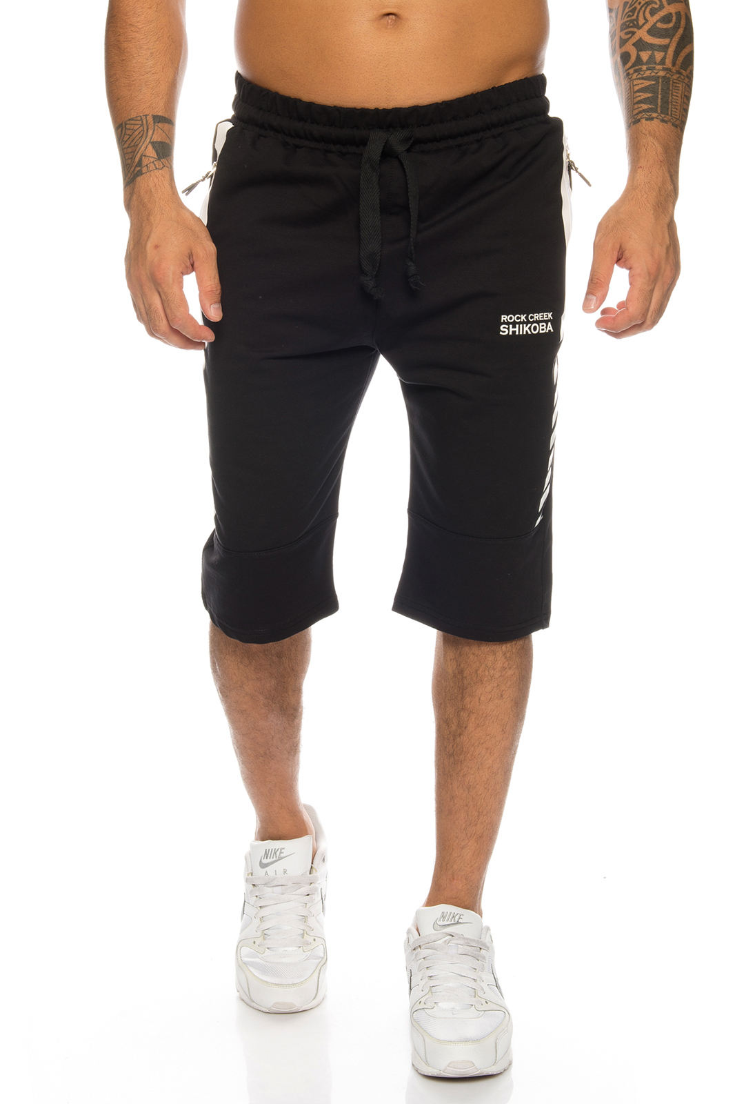 Rock Creek Herren Shorts Sweatshorts Herren Fitness Shorts Stretch ... 56bd93c68a