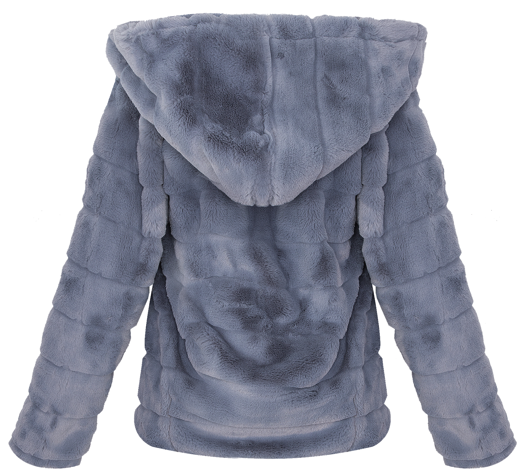 damen teddyfell jacke kuschelige fleecejacke winterjacke mit kapuze d 384 s l ebay. Black Bedroom Furniture Sets. Home Design Ideas
