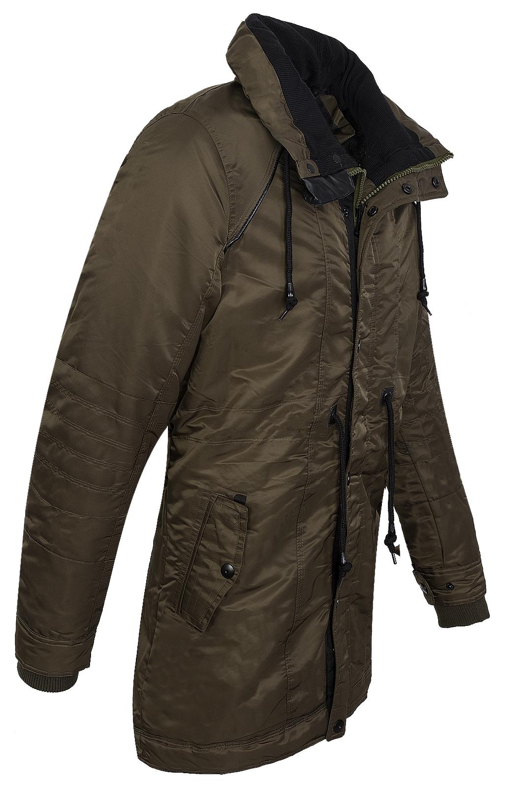 herren winter jacke outdoor mantel funktionsjacke teddyfell futter h 135 s xxl ebay. Black Bedroom Furniture Sets. Home Design Ideas