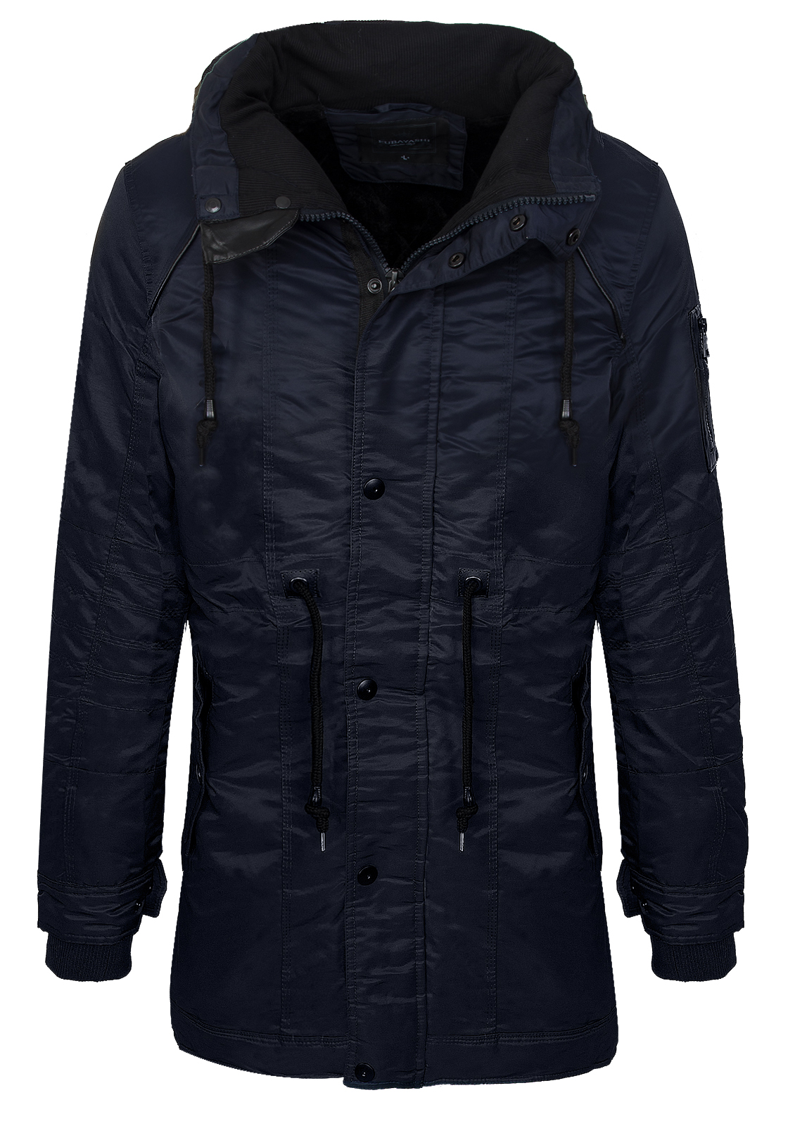 herren winter jacke outdoor mantel funktionsjacke teddyfell futter h 135 s xxl ebay. Black Bedroom Furniture Sets. Home Design Ideas