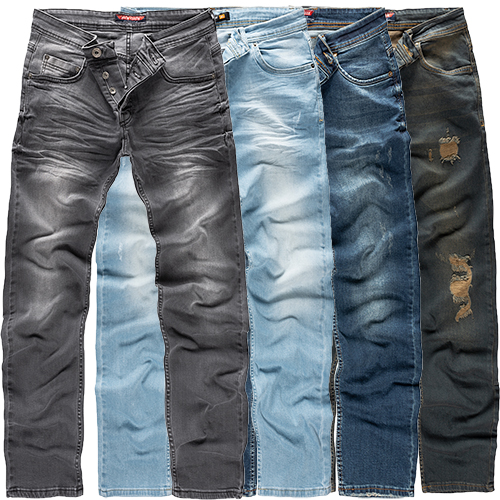 Herren Jeans Hose Clubwear Jungs Jeanshosen Design Hosen Style W29-W36 Neu