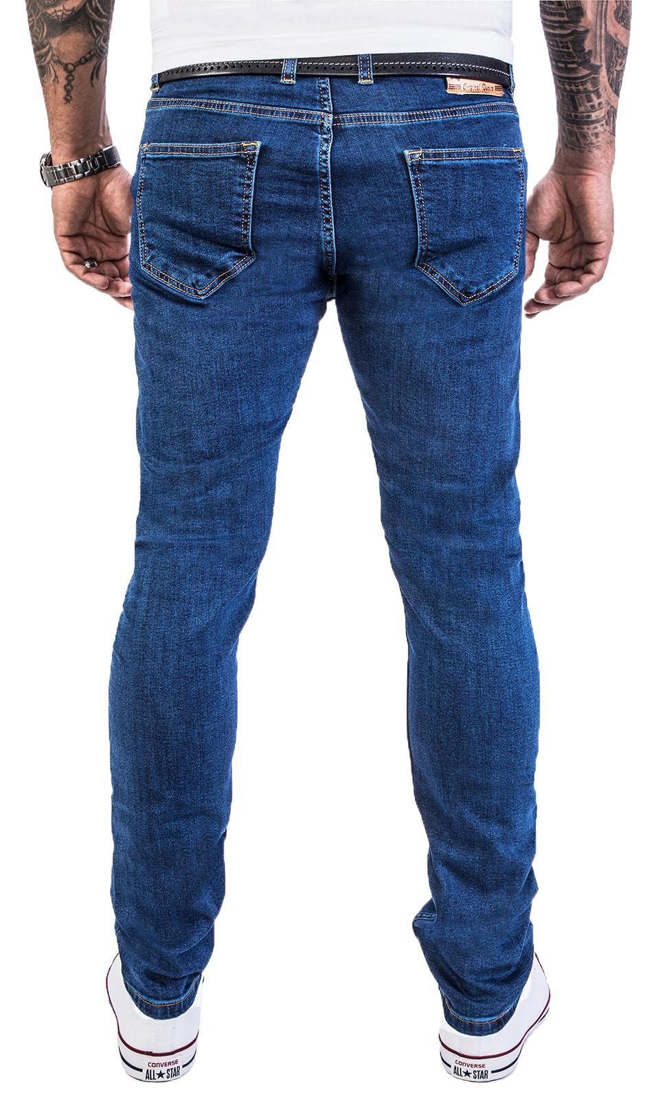678d8748e32da Details zu Rock Creek Designer Herren Jeans Hose Regular Slim Stretch Jeans  M46 W29-W40