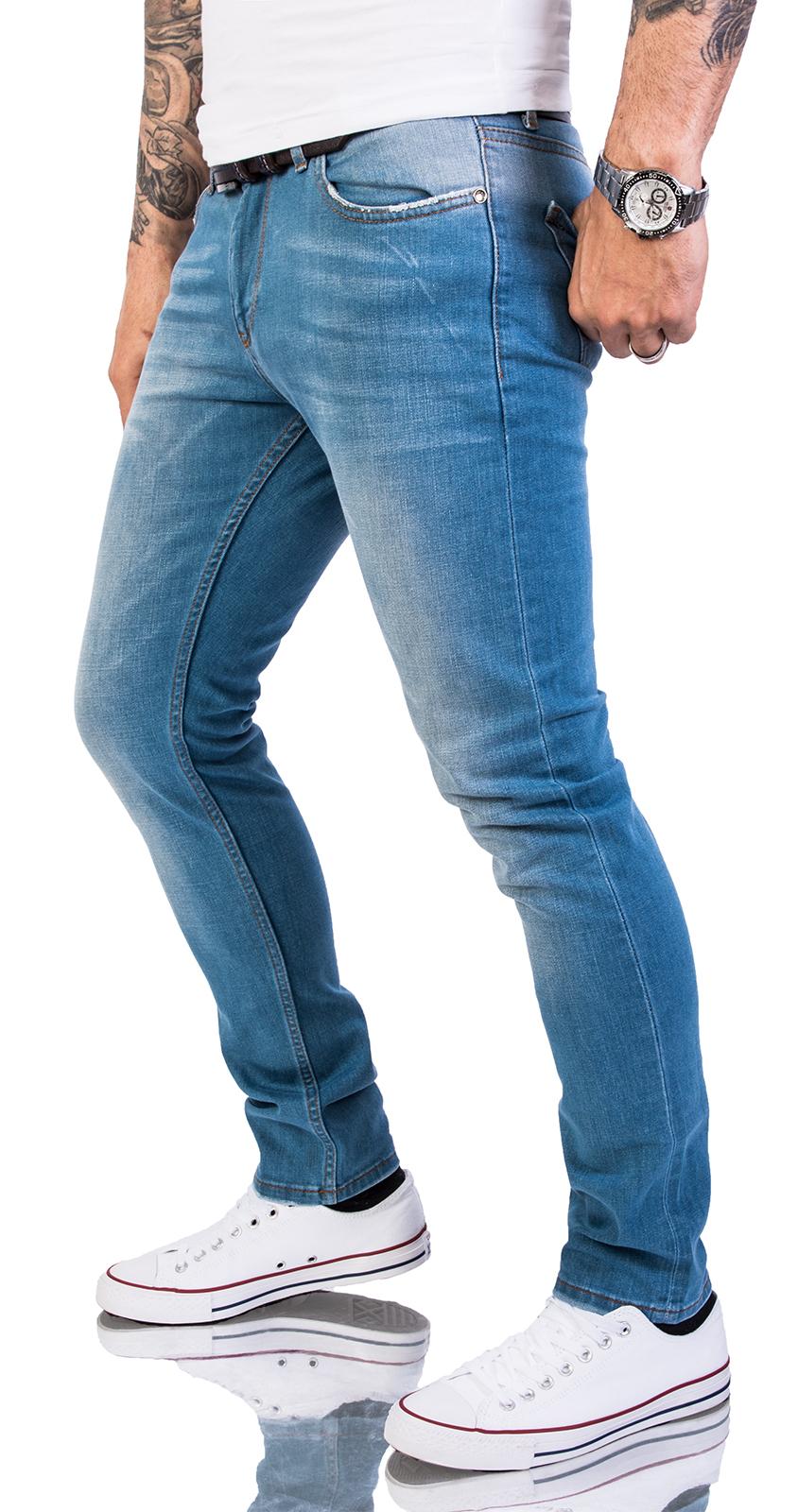 85706beda8bf4 Details about Rock Creek Designer Herren Jeans Hose Regular Slim Stretch  Jeans M46 W29-W40