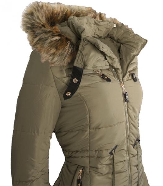 damenjacke winterjacke jacket warme steppjacke kapuze. Black Bedroom Furniture Sets. Home Design Ideas